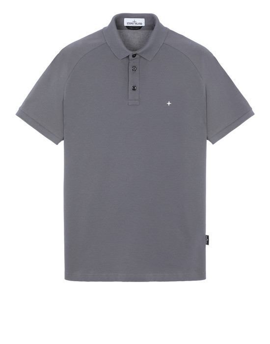 STONE ISLAND 22317 Polo shirt Man Blue Grey