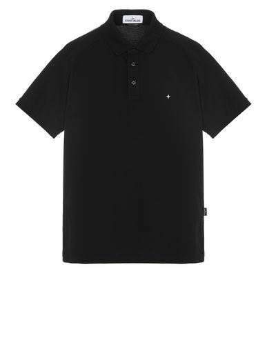 STONE ISLAND 22317 Polo shirt Man Black USD 90