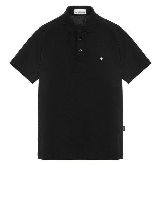 STONE ISLAND 22317 Polo shirt Man Black