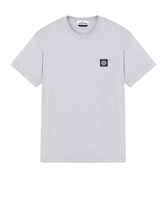 STONE ISLAND 24113 Short sleeve t-shirt Man Dust Grey