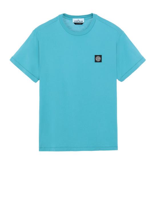STONE ISLAND 24113 Short sleeve t-shirt Man Turquoise