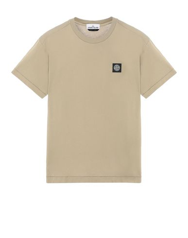 STONE ISLAND 24113 Short sleeve t-shirt Man Dark Beige EUR 103