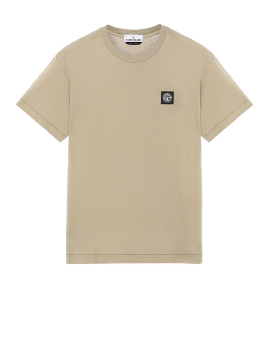STONE ISLAND 24113 Short sleeve t-shirt Man Dark Beige