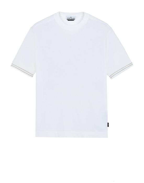 STONE ISLAND 21358 T-Shirt Herr Weiß