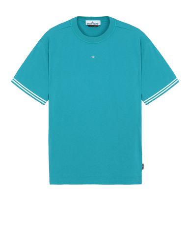 STONE ISLAND 21358 Short sleeve t-shirt Man Turquoise USD 103