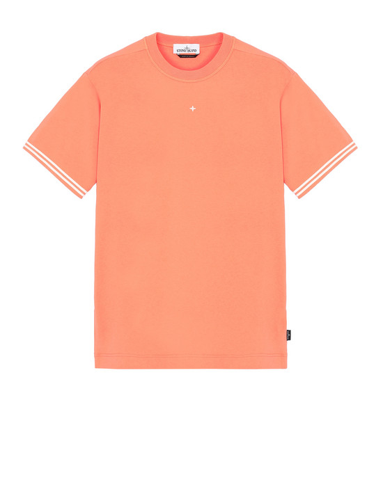 STONE ISLAND 21358 Short sleeve t-shirt Man Lobster Red