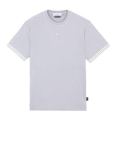 STONE ISLAND 21358 Short sleeve t-shirt Man Dust Gray EUR 65