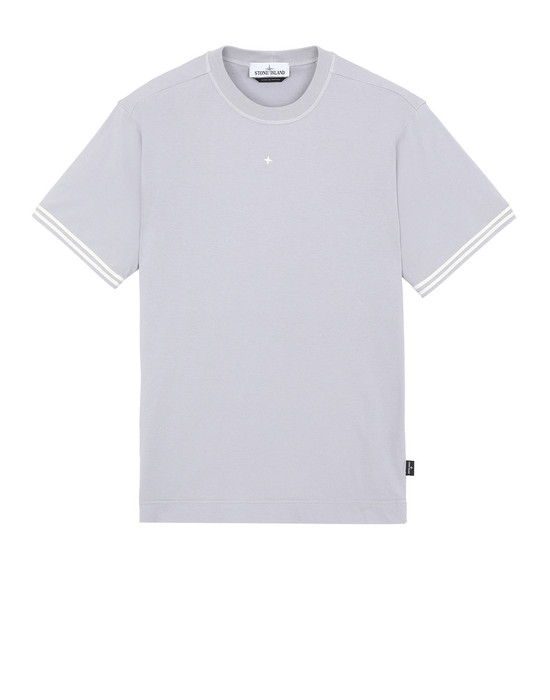 STONE ISLAND 21358 Short sleeve t-shirt Man Dust Grey