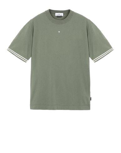 STONE ISLAND 21358 Short sleeve t-shirt Man Olive Green USD 84