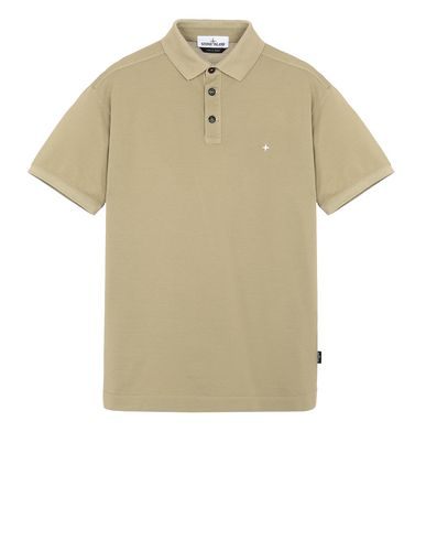 STONE ISLAND 24212 Polo shirt Man Dark Beige USD 109