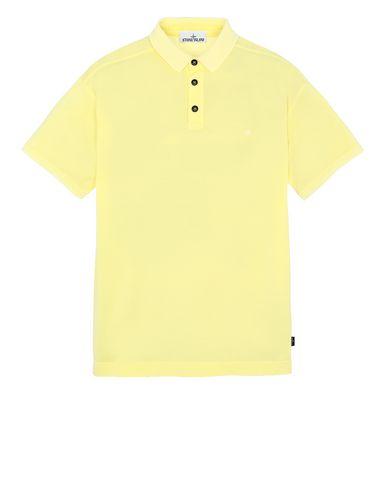 STONE ISLAND 24212 Polo shirt Man Lemon EUR 155