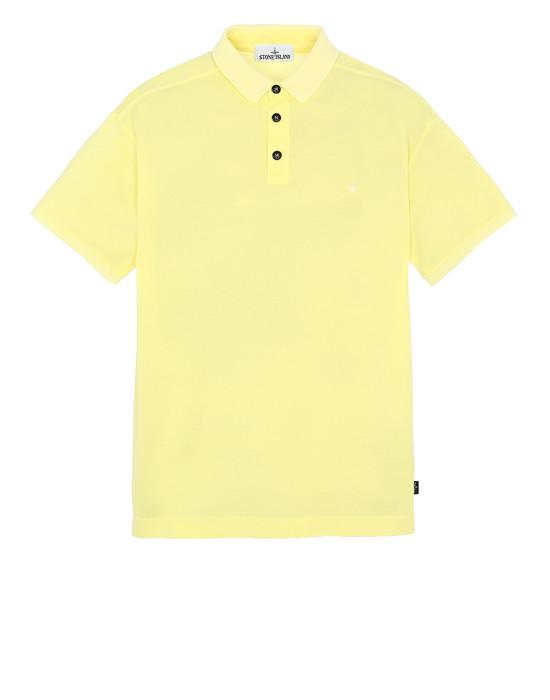 STONE ISLAND 24212 ポロシャツ メンズ レモン