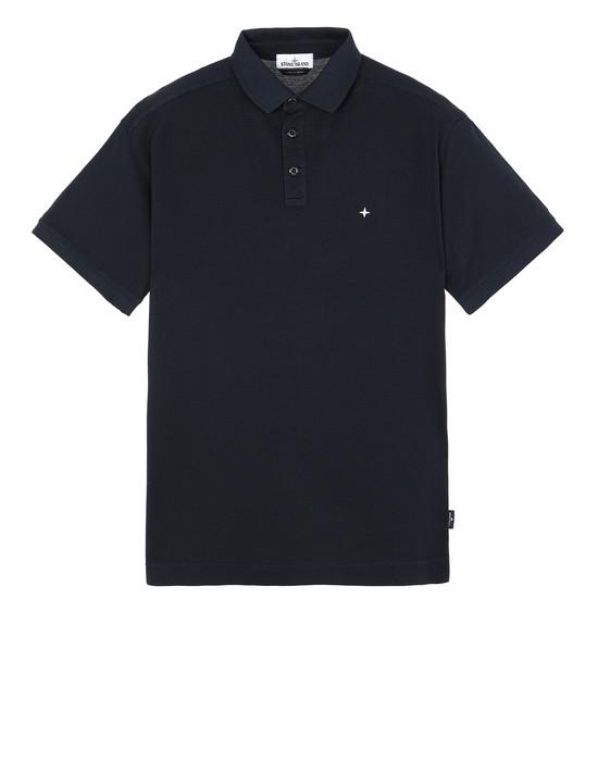 STONE ISLAND 24212 폴로 셔츠 남성 블루