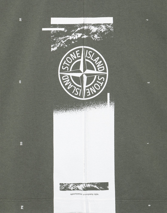 12396006hr - Polo - T-Shirts STONE ISLAND