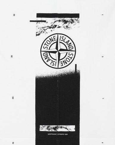 Black White Stone Island 2NS83 'DRONE ONE/' T-Shirt