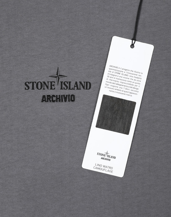 12396011nv - Polo - T-Shirts STONE ISLAND