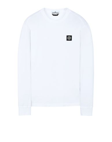 STONE ISLAND 22713 Long sleeve t-shirt Man White USD 77