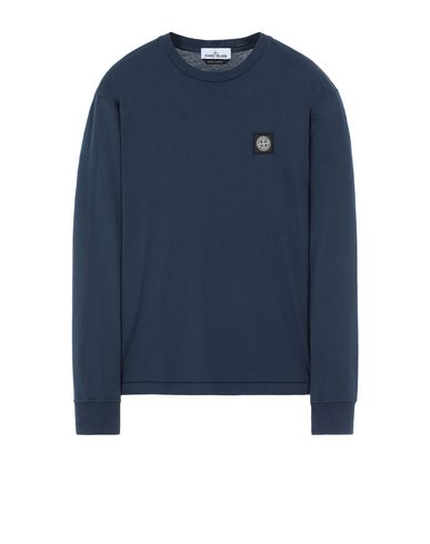 STONE ISLAND 22713 Long sleeve t-shirt Man Marine Blue USD 104