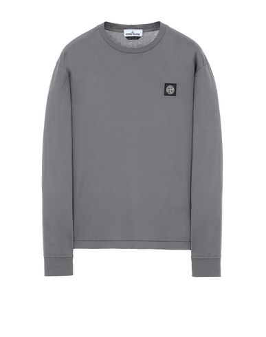 STONE ISLAND 22713 Long sleeve t-shirt Man Blue Grey EUR 123