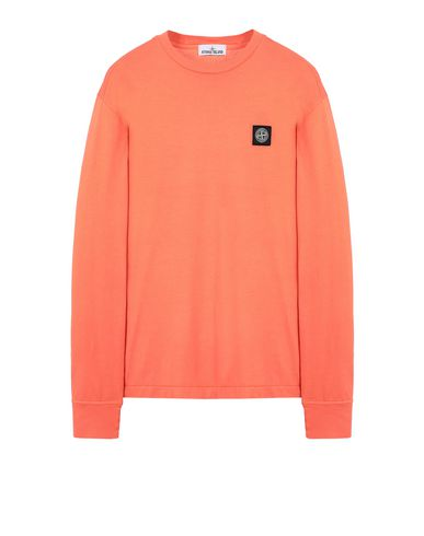 STONE ISLAND 22713 Long sleeve t-shirt Man Lobster Red EUR 123