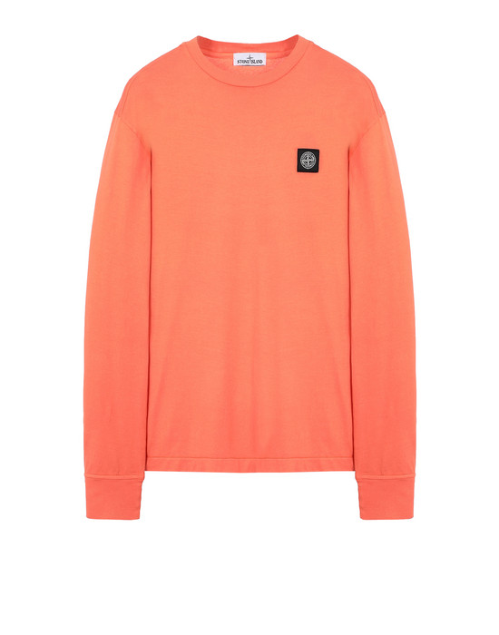 STONE ISLAND 22713 Long sleeve t-shirt Man Lobster Red