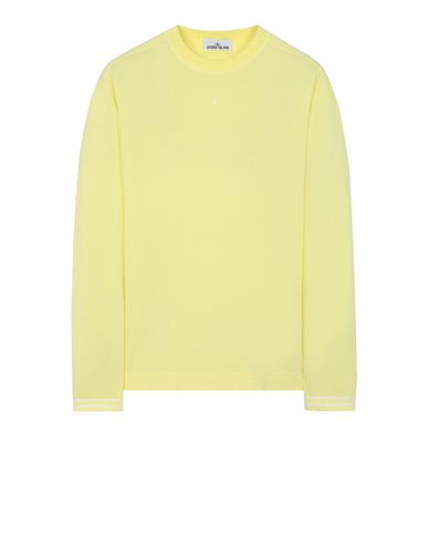STONE ISLAND 21458 Long sleeve t-shirt Man Lemon EUR 107