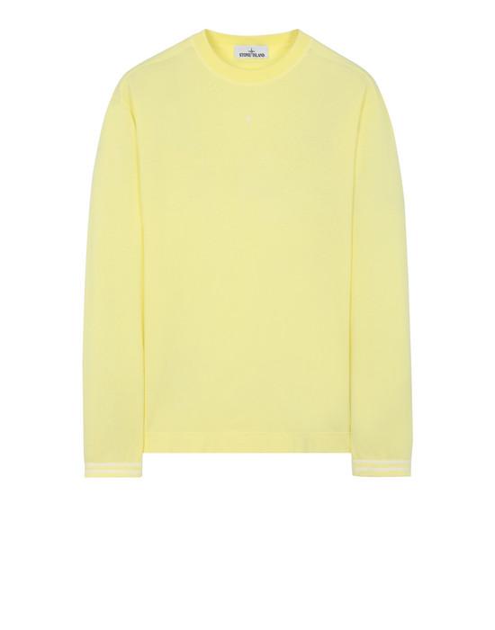 STONE ISLAND 21458 Langärmliges Shirt Herr Zitrone