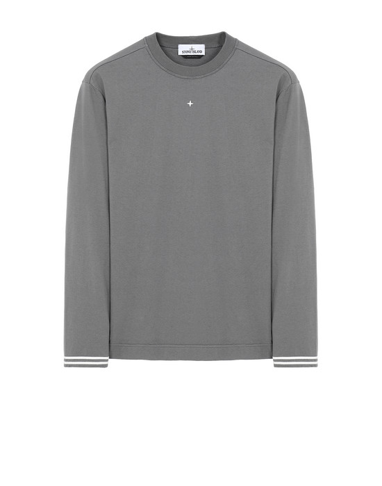 STONE ISLAND 21458 Long sleeve t-shirt Man Blue Grey