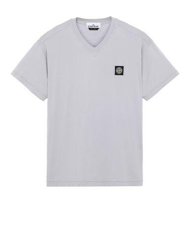 STONE ISLAND 23213 Short sleeve t-shirt Man Dust Gray USD 147