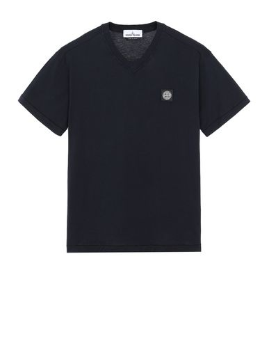 STONE ISLAND 23213 Short sleeve t-shirt Man Blue EUR 115