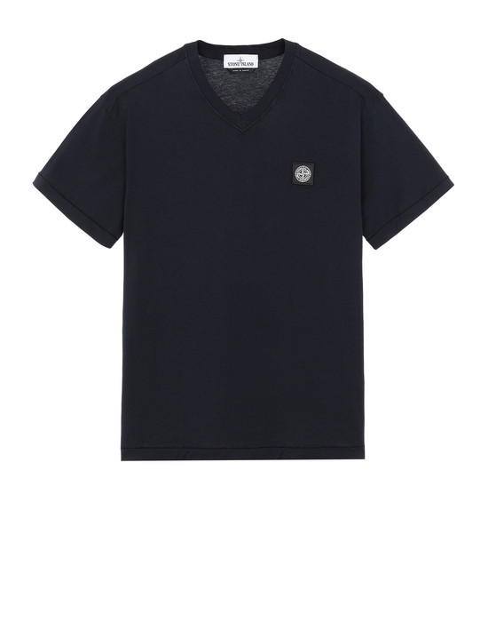 STONE ISLAND 23213 Short sleeve t-shirt Man Blue
