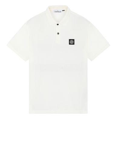 STONE ISLAND 22R39 Polo shirt Man Ivory USD 85