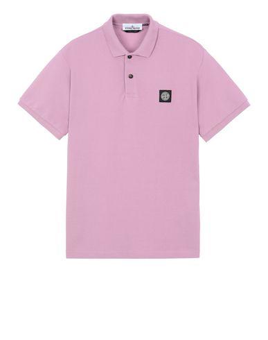 STONE ISLAND 22R39 Polo shirt Man Pink Quartz USD 87