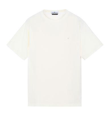 STONE ISLAND 21945 T-Shirt Herr Elfenbein EUR 102