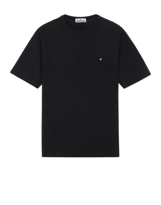 STONE ISLAND 21945 Short sleeve t-shirt Man Black