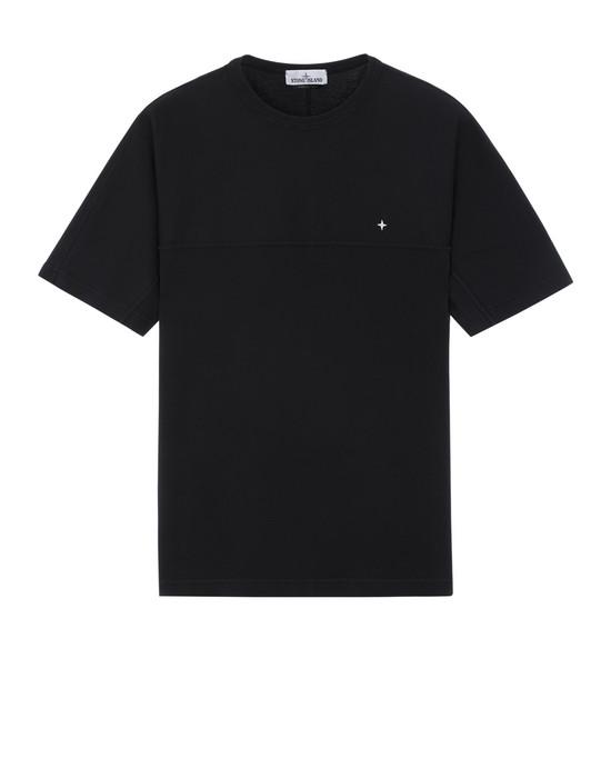 STONE ISLAND 21945 반소매 티셔츠 남성 블랙