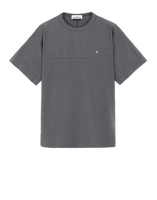 STONE ISLAND 21945 Short sleeve t-shirt Man Blue Grey