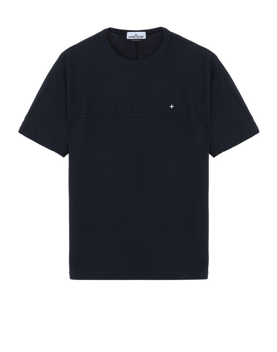 STONE ISLAND 21945 Short sleeve t-shirt Man Blue