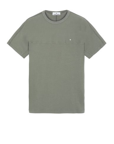 STONE ISLAND 21945 Short sleeve t-shirt Man Olive Green EUR 143