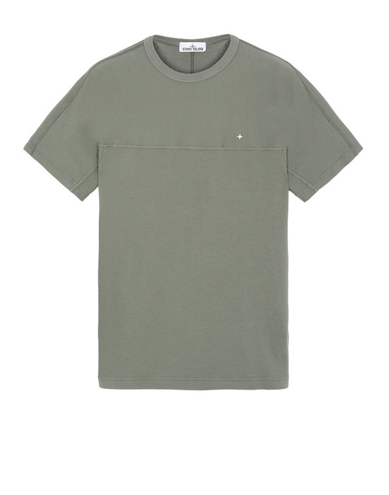 STONE ISLAND 21945 Short sleeve t-shirt Man Olive Green