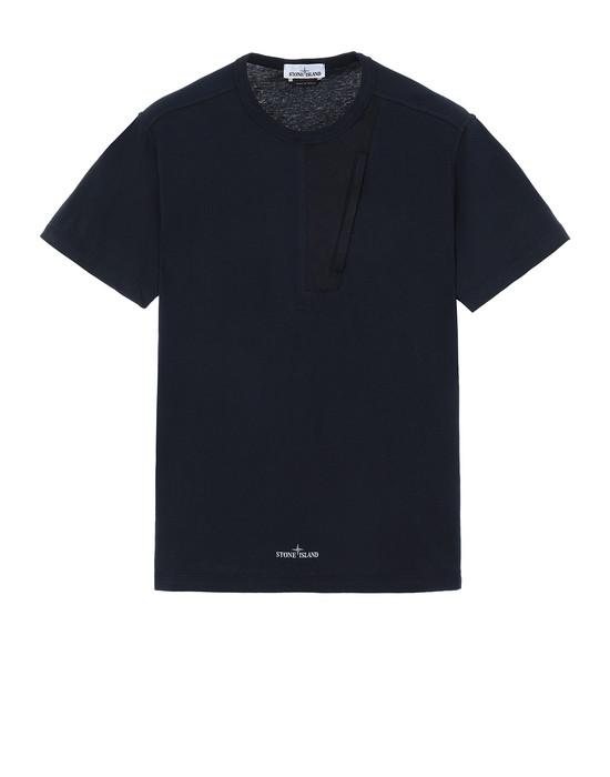 STONE ISLAND 20358 Short sleeve t-shirt Man Blue