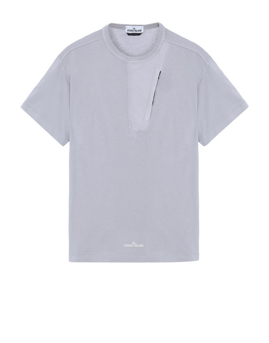 STONE ISLAND 20358 Short sleeve t-shirt Man Dust Grey