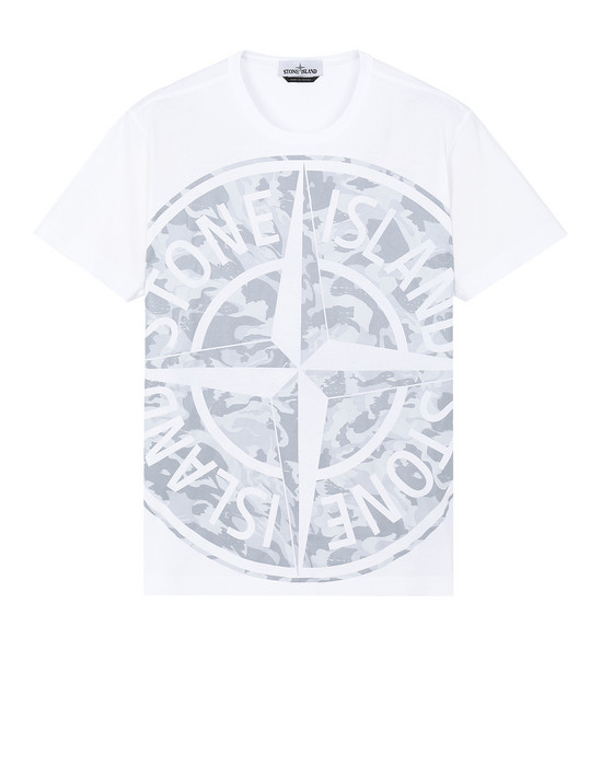 短袖 T 恤 23391 BIG LOOM STONE ISLAND - 0