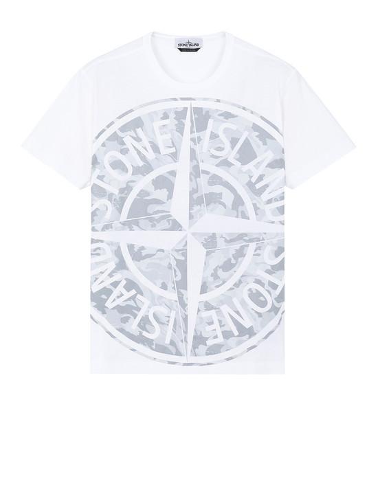 Short sleeve t-shirt Man 23391 BIG LOOM Front STONE ISLAND