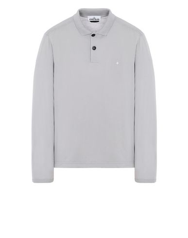 STONE ISLAND 22413 Polo shirt Man Dust Grey EUR 169