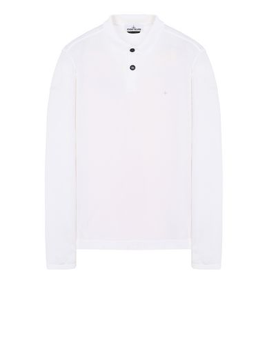 STONE ISLAND 22413 Polo shirt Man White USD 118