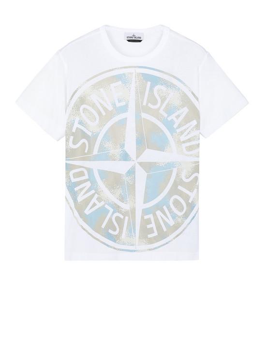 T-Shirt Herr 23388 CAMO DÉVORÉ Front STONE ISLAND