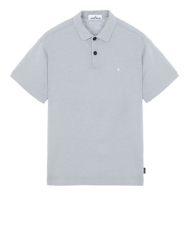 STONE ISLAND 23011 Polo shirt Man Dust Gray USD 165