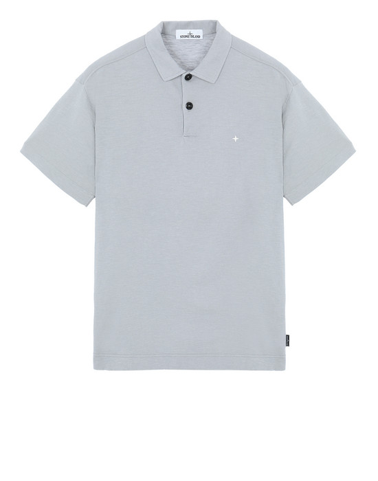 STONE ISLAND 23011 Polo shirt Man Dust Gray