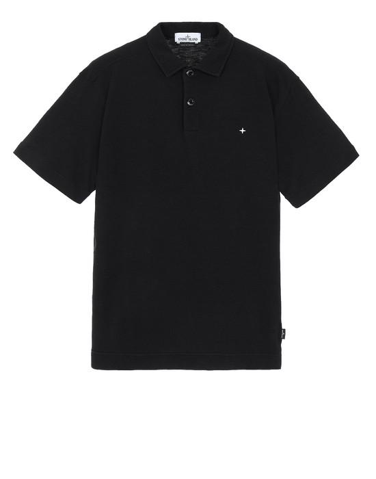 STONE ISLAND 23011 ポロシャツ メンズ ブラック
